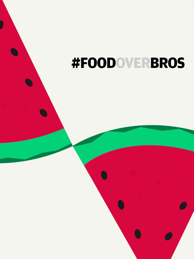#FOODOVERBROS