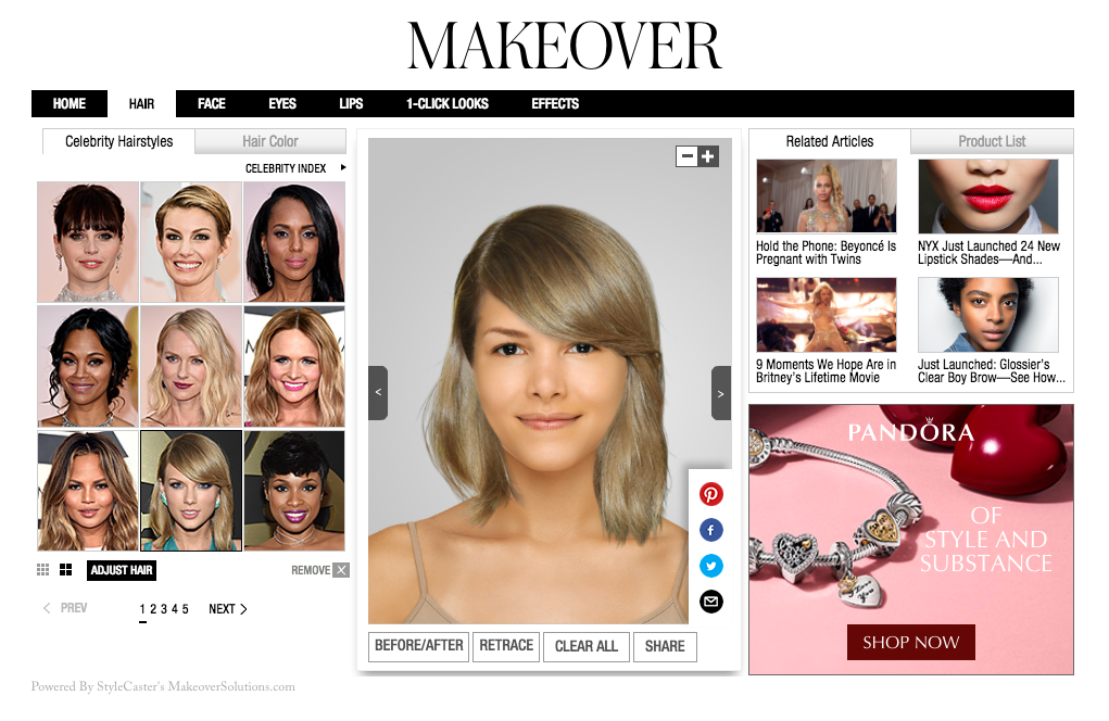 Won Virtual Makeover Makeover Solutions Cms